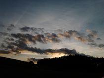 niebo nad Szwajcarią Kaszubską