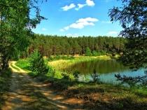 Jezioro Czarne, okolice Niesiołowic-3