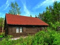 zabytkowa chata, oklice Węsior