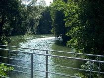 rzeka w Chmielonku