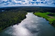Jezioro Długie w Węsiorach-2