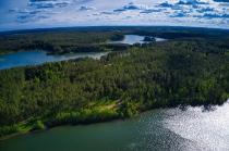 Jezioro Długie w Węsiorach-3