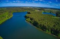 Jezioro Długie w Węsiorach-5