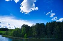Jezioro Długie w Węsiorach-6