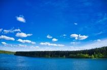 Jezioro Długie w Węsiorach-8
