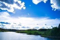 Jezioro Długie w Węsiorach-9