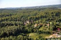 Łapalice: Zamek z XX wieku