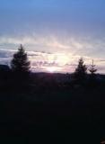 zachód słońca  Garcz