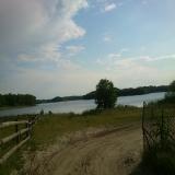 GOWIDLINO widok na jezioro