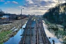 Infrastruktura Kolejowa w Kartuzach-2