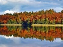 Kartuzy - Jeziora Klasztorne - jesien_4