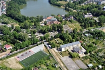 Kartuzy: Miasto, Kościół NMP - Wzgórze Wolności, Zespół Szkół Zawodowych w Kartuzach.