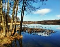Wiosna w Kartuzach Jezioro Klasztorne Duze i Male_2