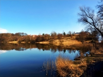 Wiosna w Kartuzach, Jezioro Klasztorne Duże i Małe