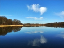 Wiosna w Kartuzach Jezioro Klasztorne Duze i Male_7