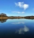 Wiosna w Kartuzach Jezioro Klasztorne Duze i Male_8