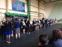Pożegnanie uczniów klas III-10