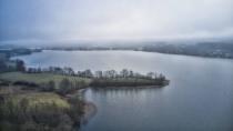 Lampa widok na jezioro Kłodno-1