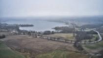 Lampa widok na jezioro Kłodno-2
