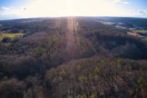 Marszewska Góra - widok na las-3