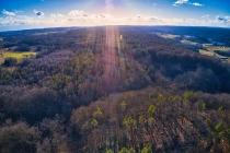 Marszewska Góra - widok na las-4