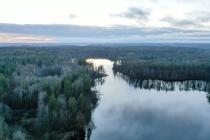 Sianowo Leśne widok z lotu ptaka-2