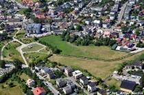 Sierakowice - fotografia lotnicza