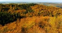 Jesienny widok z Wiezycy_1