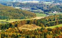 Jesienny widok z Wiezycy_9