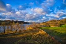 Zawory Widok na jezioro Brodno Małe-1