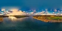 Zawory Widok na jezioro Brodno Małe-2