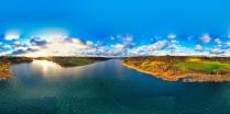 Zawory Widok na jezioro Brodno Małe-3