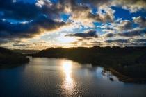 Zawory Widok na jezioro Brodno Małe-4