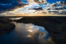 Zawory Widok na jezioro Brodno Małe-5