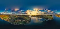 Zawory Widok na jezioro Brodno Małe-6