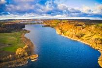 Zawory Widok na jezioro Brodno Małe-7