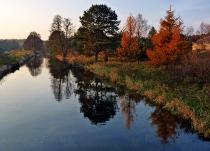 Jesień nad Wdą