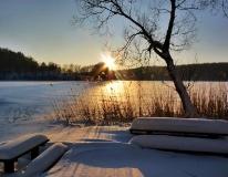 Jezioro Ostrzyckie zima_12