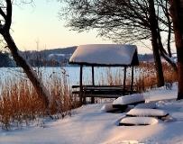 Jezioro Ostrzyckie zima_17