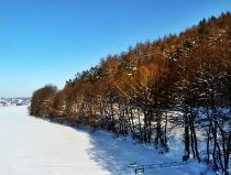 Jezioro Ostrzyckie zima_21