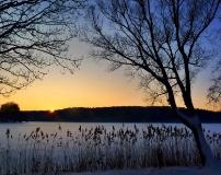 Jezioro Ostrzyckie zima_25