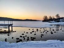 Jezioro Ostrzyckie zima_28