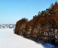 Jezioro Ostrzyckie zima_5