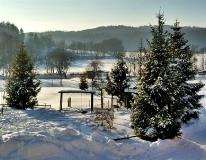 Jezioro Ostrzyckie zima_8