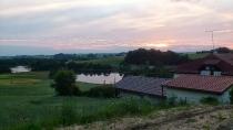 Zachód Słońca za Egiertowem