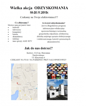 Plakat recyclingu